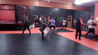 09/25/13 :: Warrior Camp Kickboxing Class