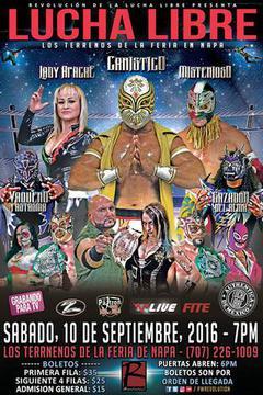 Pro Wrestling Revolution - Lucha Libre  - September 2016