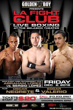 LA Fight Club: Abraham Lopez vs Sergio Lopez