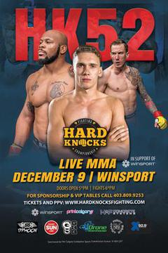 HARD KNOCKS FIGHTING CHAMPIONSHIP HK52