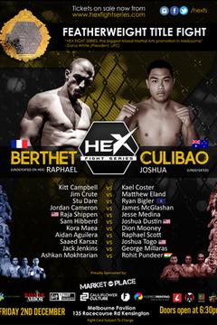 HEX 7 - Raphael Berthet vs Joshua Culibao