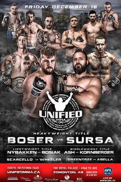 Unified MMA 29 - Tanner Boser vs Marcus Sursa