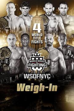 WSOF NYC: Weigh-In