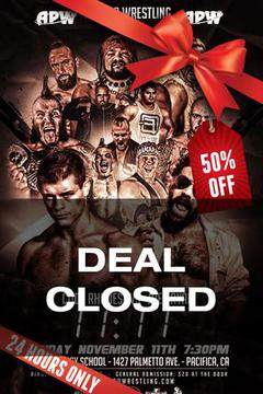 Xmas Deal Day 4 - All Pro Wrestling 11:11