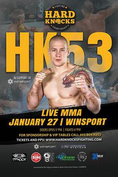 HARD KNOCKS FIGHTING CHAMPIONSHIP HK53