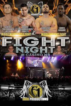 Fight Night at Casino NB