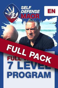 #1: Self Defense Maor : 7 Levels, FULL PACK