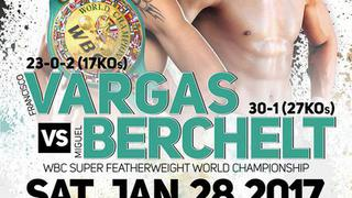 Golden Boy Boxing: Vargas vs. Berchelt Undercard