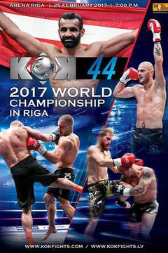 Fightbox KOK World Series in Riga 2017