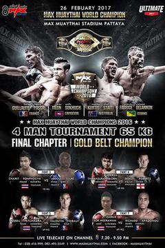 "MAX MUAY THAI ""The Final Chapter"""