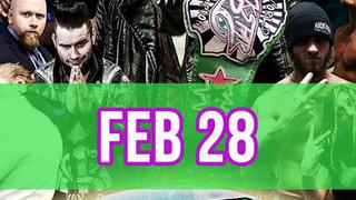 Rockstar Pro Wrestling: Amped, Feb. 22