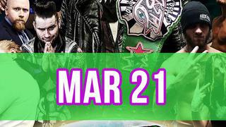 Rockstar Pro Wrestling: Amped, March 21