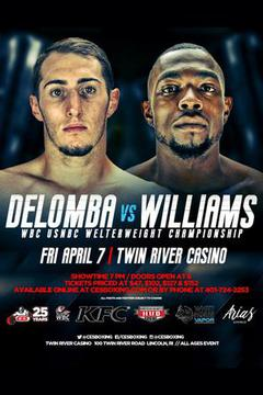 #3: CES Boxing: DeLomba vs Williams