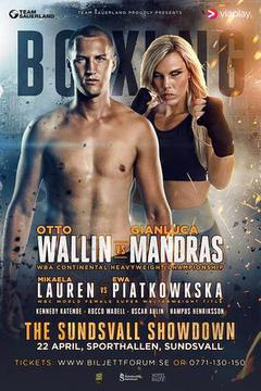 Otto Wallin vs Gianluca Mandras