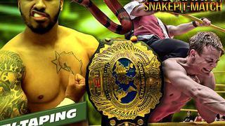 New European Wrestling (NEW):  Snakepit
