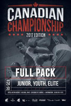 2017 Canadian Boxing Championship FULL PACK