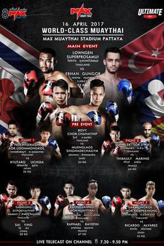 MAX MUAY THAI: April 16