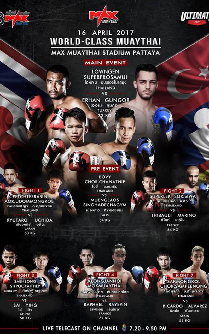 MAX MUAY THAI: April 16