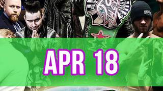 Rockstar Pro Wrestling: Amped, April 18