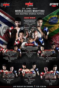 MAX MUAY THAI: April 23
