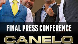 Canelo vs. Chavez Jr: Final Press Conference