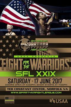 Spartyka Fight League - SFL XXIX Fight For The Warriors