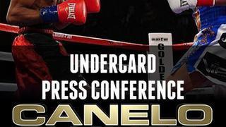Canelo vs. Chavez Jr: Undercard Press Conference