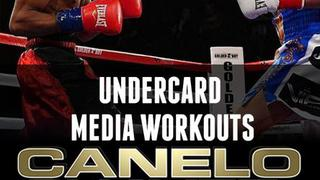 Canelo vs. Chavez Jr: Undercard Media Workouts