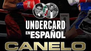 Canelo vs. Chavez Jr: Undercard (Español)