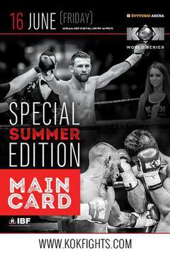 KOK Special Summer Edition: Main Card