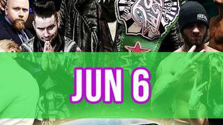 Rockstar Pro Wrestling: Amped, June 6