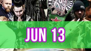 Rockstar Pro Wrestling: Amped, June 13