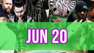 Rockstar Pro Wrestling: Amped, June 20