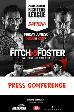 Professional Fighters League: Daytona Press Conference