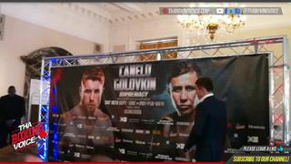"Canelo Alvarez vs. Middleweight Champion Gennady ""GGG"" Golovkin Face Off June 2017"