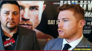 "Canelo On Mayweather vs Conor McGregor, ""The Fight That Has Real Meaning Is Canelo vs Golovkin June 2017"
