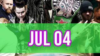 Rockstar pro wrestling: amped, july 4