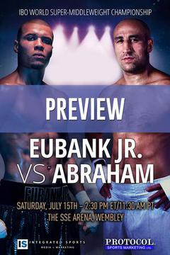 "#3: Chris Eubank, Jr. vs. ""King"" Arthur Abraham: Preview"