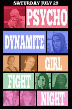 Psycho Dynamite Girl Fight Night