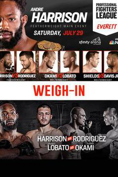 Professional Fighters League: Everett Weigh-In