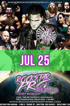 #2: Rockstar Pro Wrestling: Amped, July 25