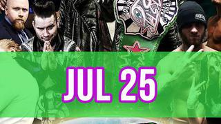 Rockstar Pro Wrestling: Amped, July 25