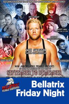 Wrestling Weekender: Bellatrix Sep 15th Friday Night