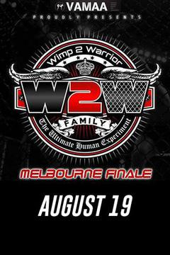 Wimp 2 Warrior Melbourne Season 2 Finale
