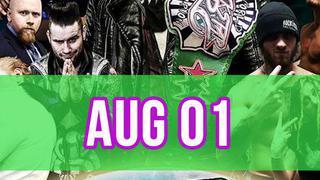 Rockstar Pro Wrestling: Amped, August 1