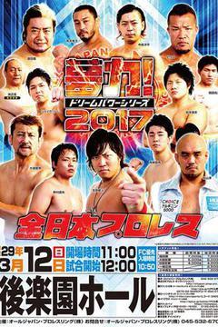 All Japan Pro Wrestling Dream Power Series, 2017