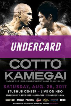 Miguel Cotto vs. Yoshihiro Kamegai Undercard