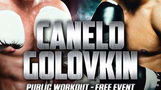 Golovkin & Canelo Public Workouts