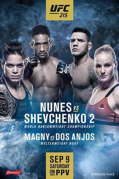 UFC 215: Nunes vs Shevchenko 2