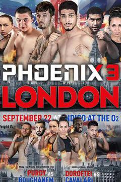 Phoenix Fighting Championship 3 Sep 22th 2017